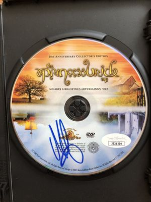 Mandy Patinkin autographed The Princess Bride movie DVD (JSA)