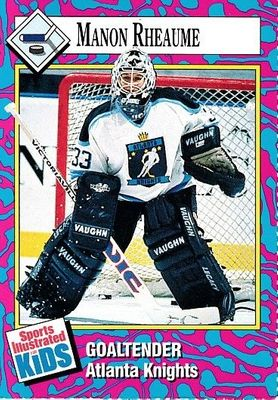 Manon Rheaume 1993 Sports Illustrated for Kids hockey card