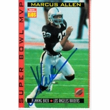 9958ab2703b Marcus Allen autographed Raiders Super Bowl 18 MVP Sports Illustrated for  Kids card