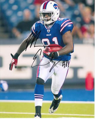Marcus Easley autographed Buffalo Bills 8x10 photo