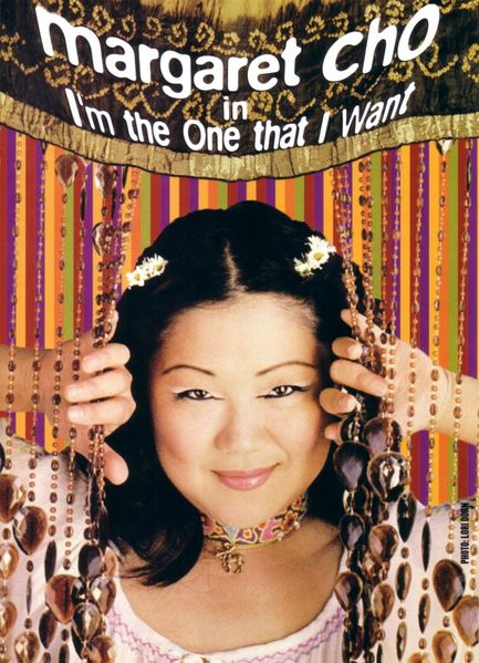 Margaret Cho I'm the One that I Want promo flyer