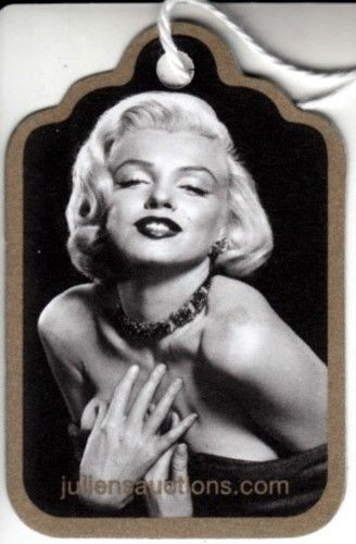 Marilyn Monroe 2014 Julien's Auctions original paper item or lot tag with photo MINT