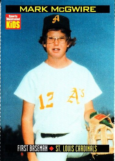 Mark McGwire 2000 Sports Illustrated for Kids card #882