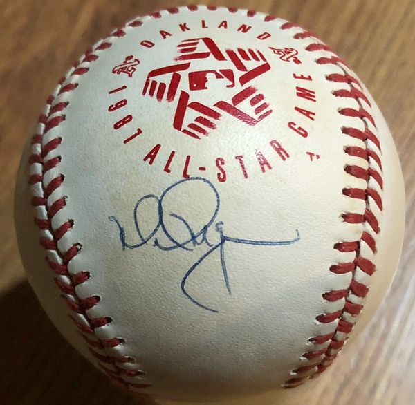 Mark McGwire autographed 1987 All-Star Game official Rawlings baseball (JSA)
