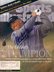 Mark O'Meara autographed 1998 British Open Champion Sports Illustrated
