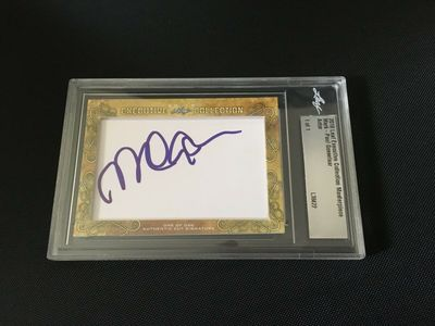 Mark-Paul Gosselaar 2018 Leaf Masterpiece Cut Signature certified autograph card 1/1 JSA