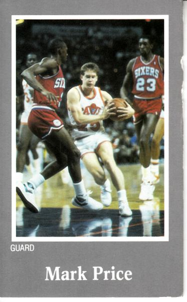 Mark Price Cleveland Cavaliers 1980s Athletes in Action Bible tract