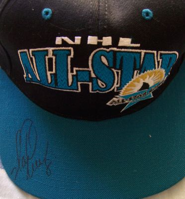 Mark Recchi autographed 1997 NHL All-Star Game cap or hat