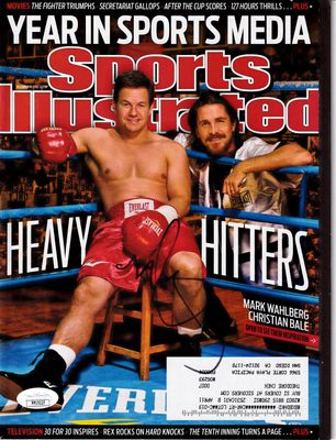 Mark Wahlberg autographed The Fighter 2010 Sports Illustrated (JSA)