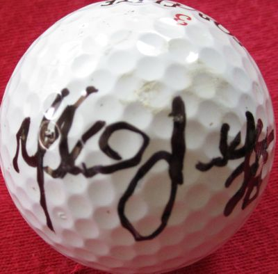 Marshall Faulk autographed golf ball