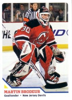 Martin Brodeur 2010 Sports Illustrated for Kids card