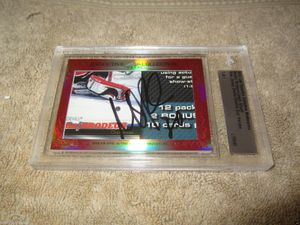 Martin Brodeur and Jason Arnott 2015 Leaf Masterpiece Cut Signature certified autograph card 1/1 JSA
