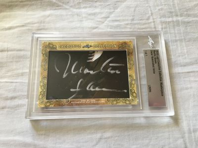 Martin Sheen 2018 Leaf Masterpiece Cut Signature certified autograph card 1/1 JSA