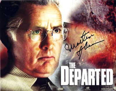 Martin Sheen autographed Departed 8x10 photo