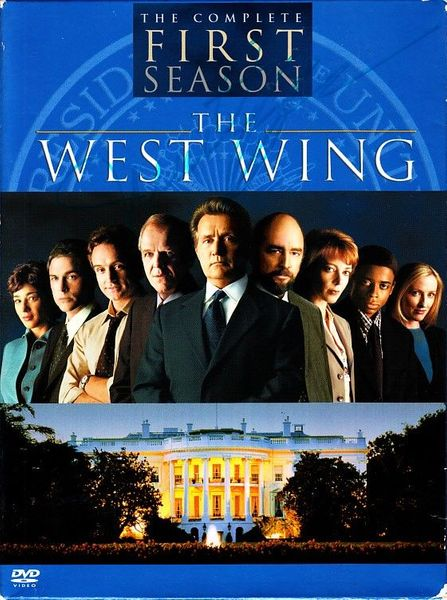 Martin Sheen autographed The West Wing First Season DVD set