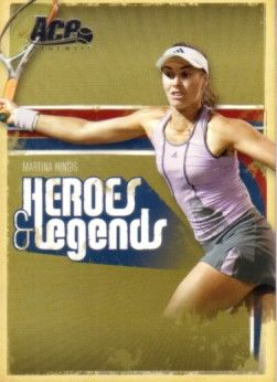 Martina Hingis 2006 Ace Authentic card