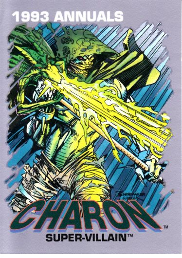 Marvel Annuals 1993 Charon promo card #6