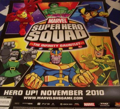 Marvel Super Hero Squad 2010 Comic-Con promo poster (Iron Man)