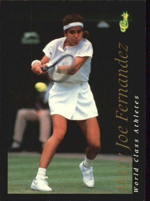 Mary Joe Fernandez 1992 Classic World Class Athletes card