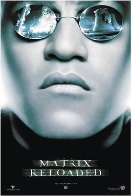 Matrix Reloaded 27x39 inch full size movie poster (Morpheus)