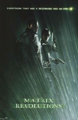 Matrix Revolutions 22x34 inch movie poster (Morpheus and Trinity)
