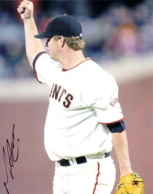 Matt Cain autographed San Francisco Giants 8x10 photo