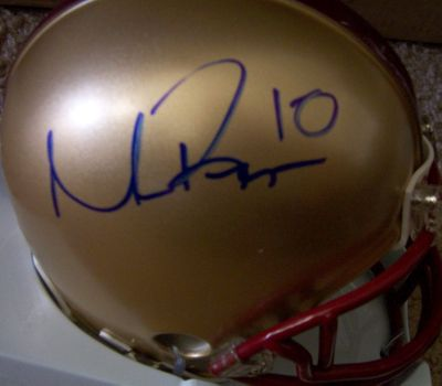 Matt Ryan autographed Boston College Eagles mini helmet