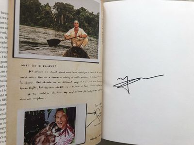 Matthew McConaughey autographed Greenlights hardcover book