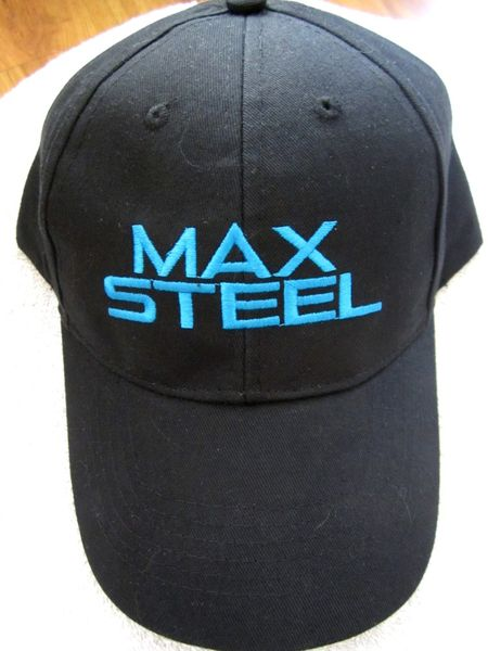 Max Steel 2014 Comic-Con exclusive promo embroidered cap or hat