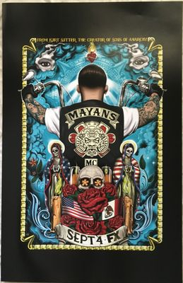 Mayans MC 2018 San Diego Comic-Con 11x17 mini Fox promo poster