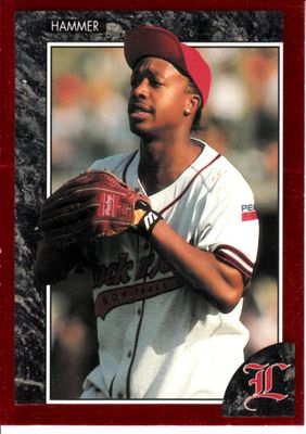 MC Hammer 1992 Legends card
