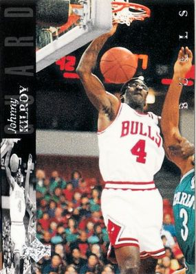 Michael Jordan Chicago Bulls 1993-94 Upper Deck Special Edition Johnny Kilroy insert card JK1