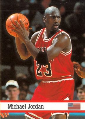 Michael Jordan Chicago Bulls 1993 Fax Pax card