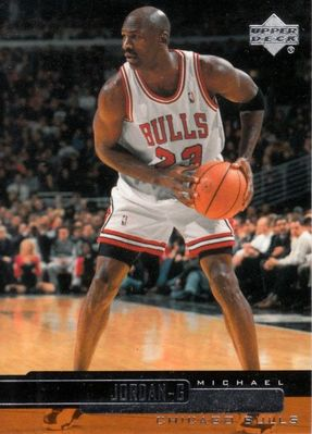 Michael Jordan Chicago Bulls 2000-01 Upper Deck checklist card #314