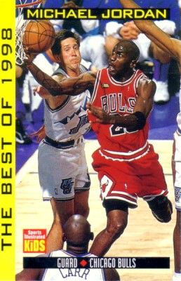 Michael Jordan Best of 1998 Sports Illustrated for Kids card