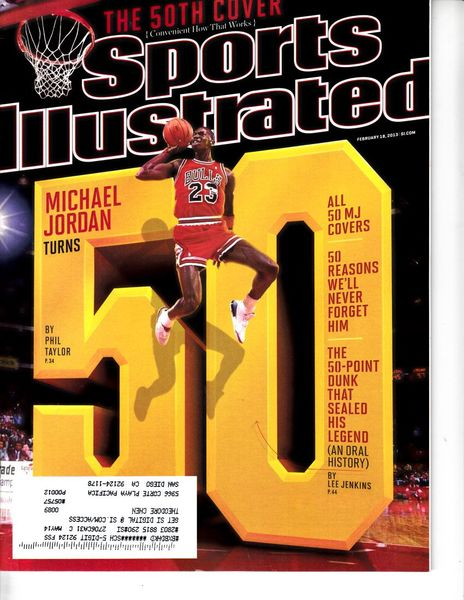 Michael Jordan Chicago Bulls 2013 Sports Illustrated magazine