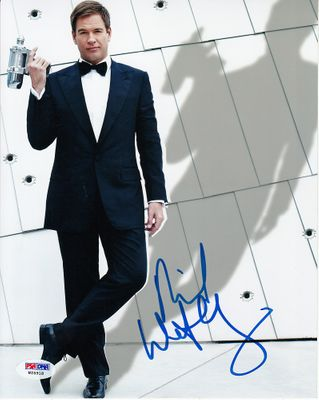 Michael Weatherly autographed 8x10 photo (PSA/DNA)