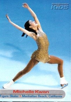 Michelle Kwan 2003 Sports Illustrated for Kids card