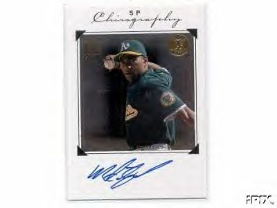 Miguel Tejada certified autograph Oakland A's 1998 SP Chirography card