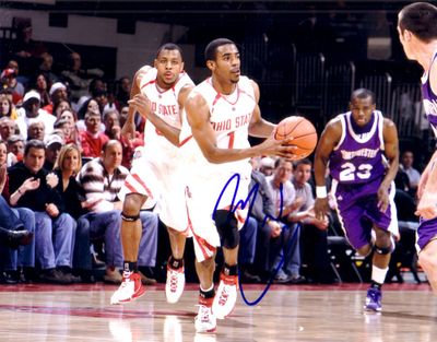 Mike Conley Jr. autographed Ohio State Buckeyes 8x10 photo