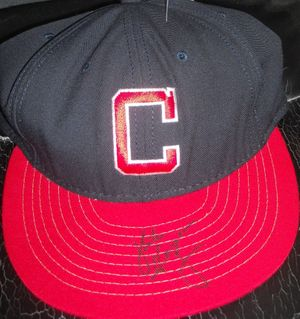 Mike Hargrove autographed Cleveland Indians authentic throwback cap or hat