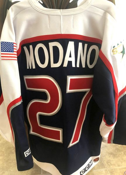 Mike Modano 2000 NHL All-Star Game Dallas Stars authentic CCM stitched jersey