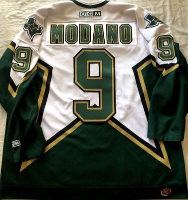 Mike Modano Dallas Stars 2000 Stanley Cup Finals authentic CCM stitched jersey