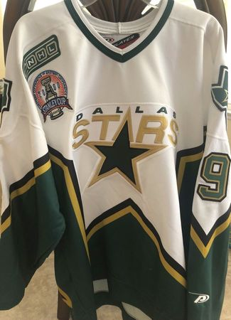 Mike Modano Dallas Stars 2000 Stanley Cup Finals authentic Pro Player stitched jersey NEW