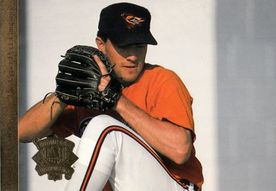Mike Mussina Baltimore Orioles 1994 Upper Deck All-Star Game jumbo card