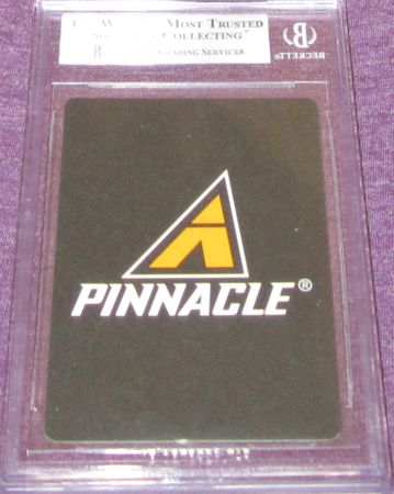 Mike Piazza Los Angeles Dodgers 1997 Pinnacle All-Star FanFest Playing Cards BGS graded 8.5 RARE 1/1