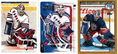 Mike Richter New York Rangers 3 card lot (1994-95 Topps Premier Special Effects insert)
