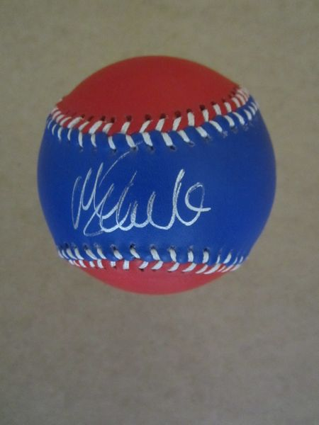 Mike Schmidt autographed Philadelphia Phillies leather logo baseball