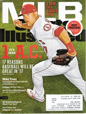 Mike Trout Angels 2017 MLB Preview issue Sports Illustrated (regional cover)