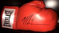 Mike Tyson autographed Everlast leather boxing glove (JSA)